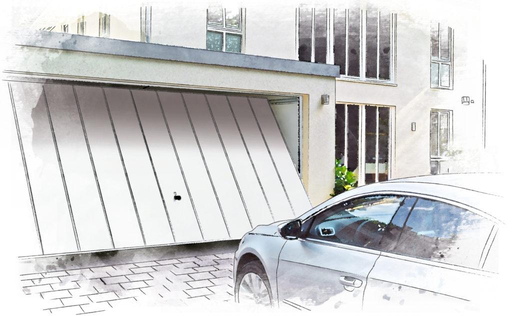 Hormann 2601 up & over garage door