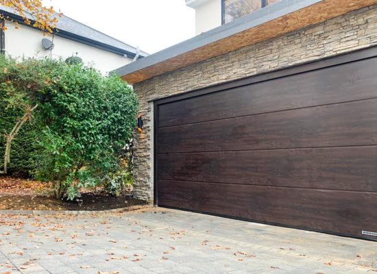 Hormann LPU42 L Ribbed Insulated Sectional Garage Doors