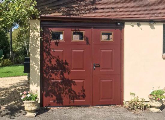 Garador Beaumont 1/3:2/3 Split Side Hinged Garage Doors