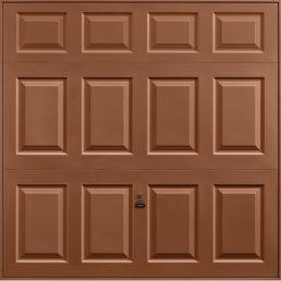 Beaumont garage door clay brown